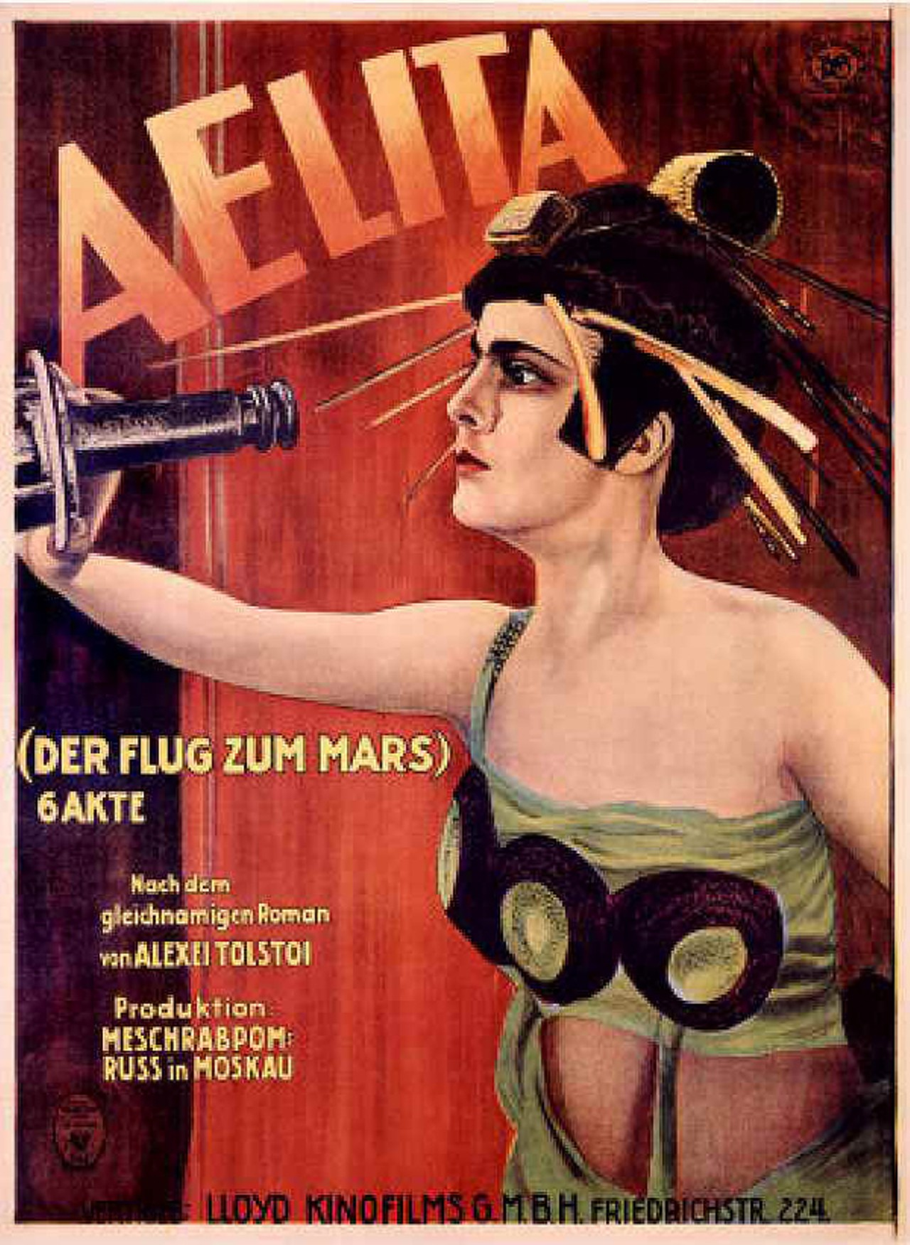 Aelita queen of mars