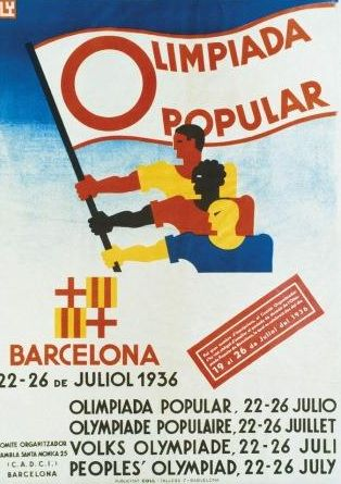 Barcelone 1936 les olympiades oubliees