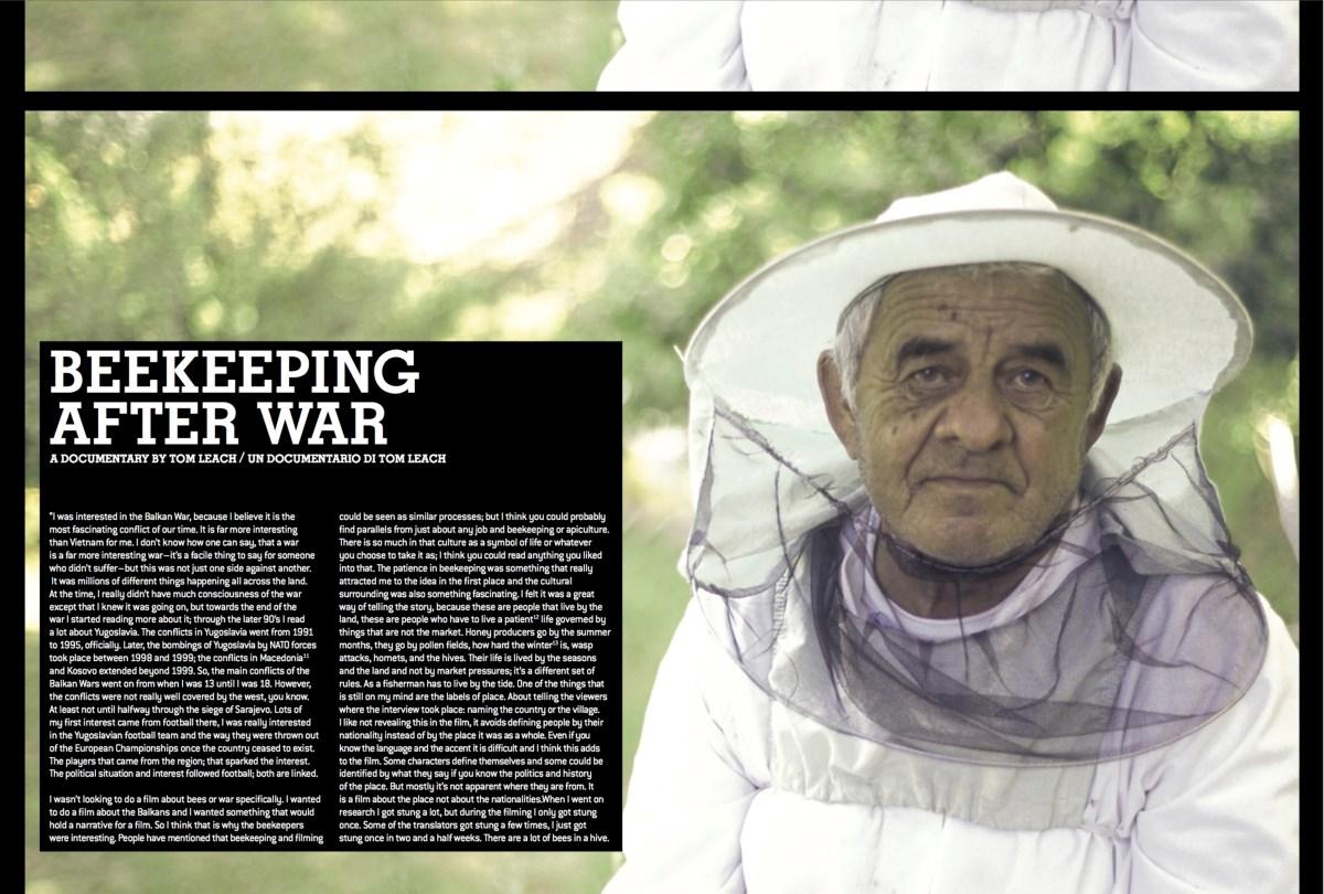 Beekeeping after war