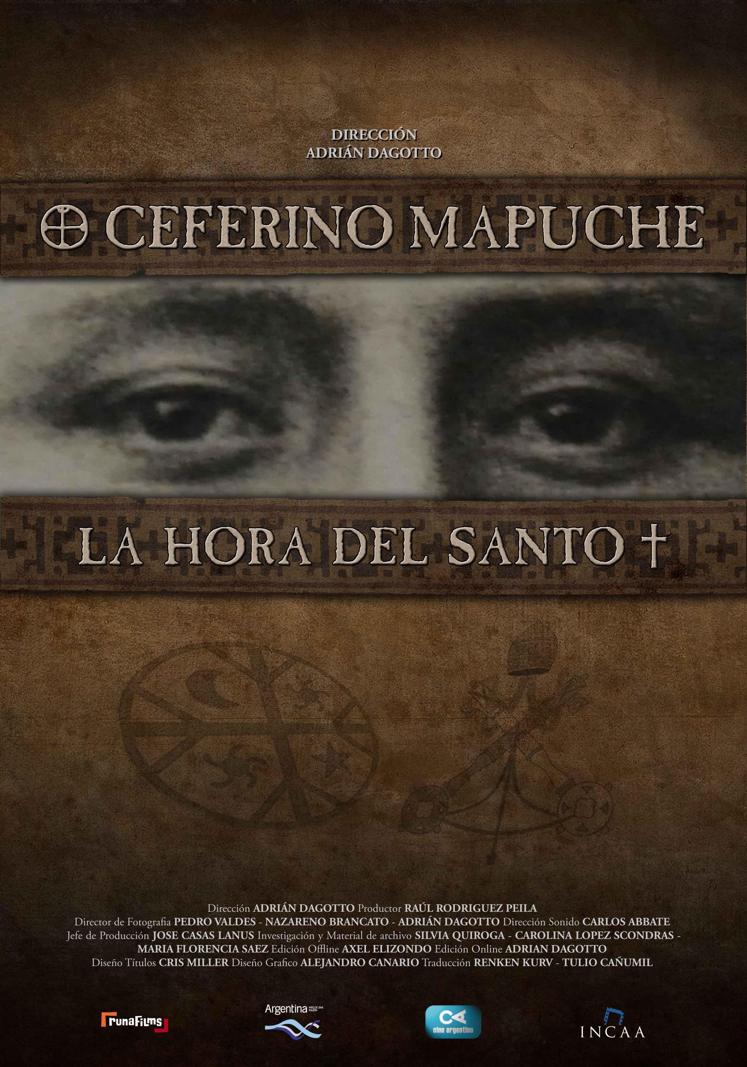 Ceferino mapuche la hora del santo
