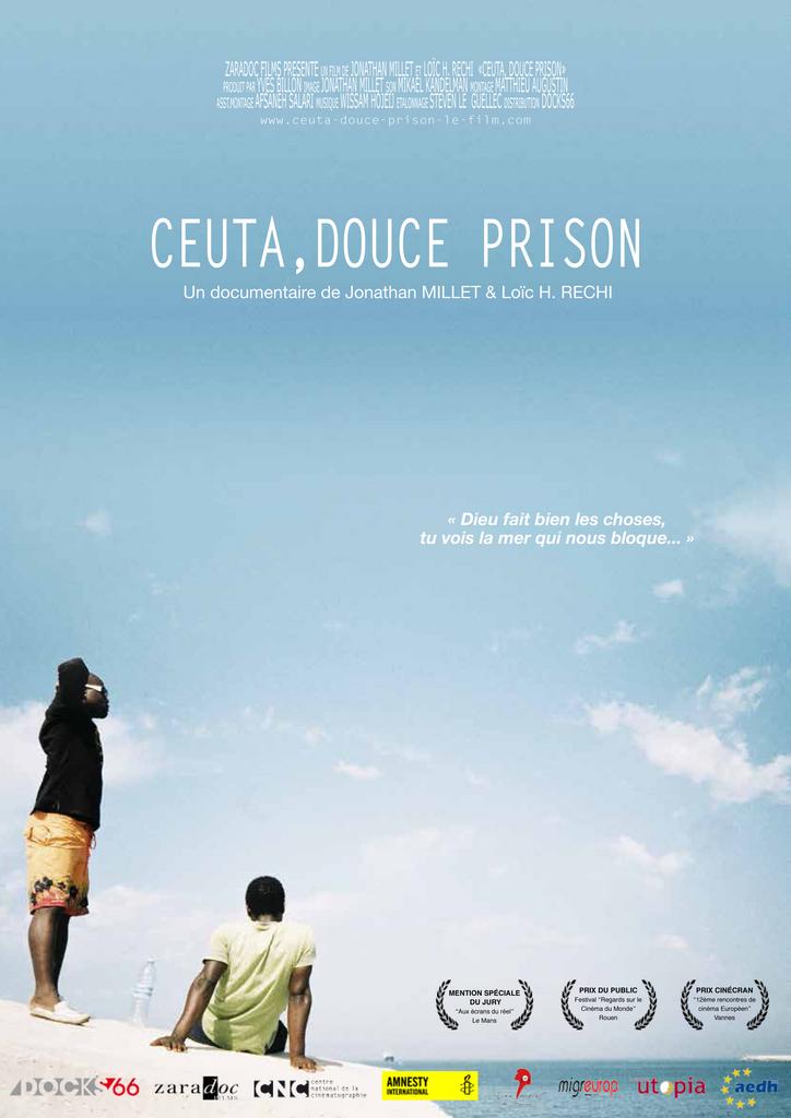 Ceuta prison by the sea