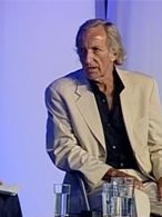 John pilger at the guardian hay festival 2006