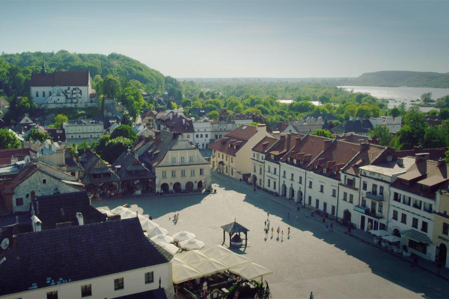 Kazimierz an idyll annihilated